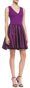 Halston Heritage Fit Flare Dress
