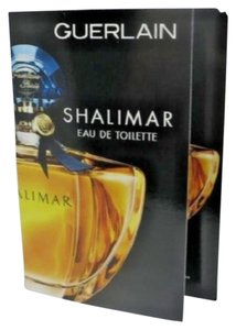 Guerlain 5 X Guerlain Shalimar Eau de Toilette EDT Fragrance Sample For Women