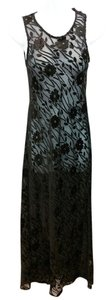 Betsey Johnson Black Long Maxi Dress