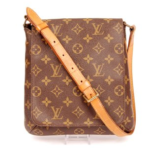 Louis Vuitton Monogram Canvas Musette Salsa Leather Shoulder Bag