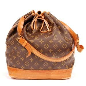 Louis Vuitton Monogram Canvas Noe Tote in Brown