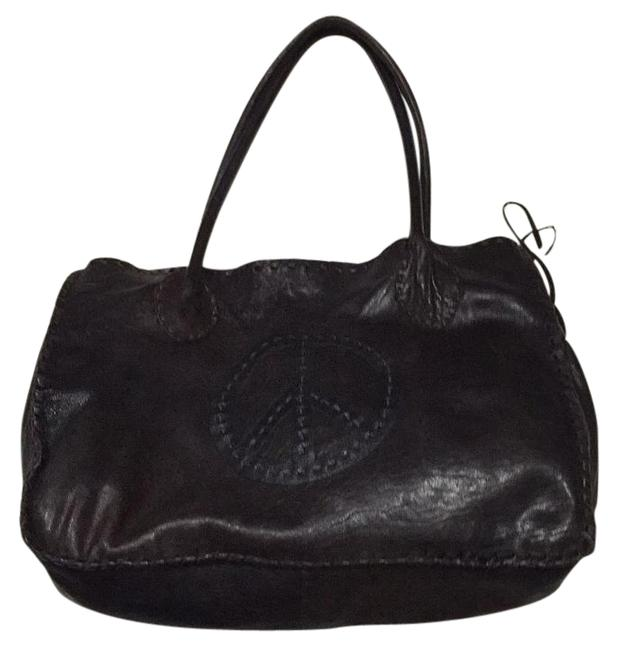 Item - Brown Soft Calf Leather Tote