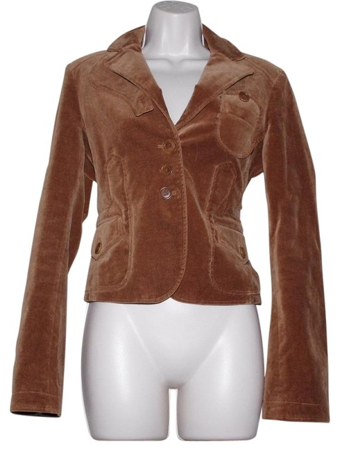 Preload https://img-static.tradesy.com/item/19837395/bcbgmaxazria-brown-cotton-blend-velvet-women-cropped-motorcycle-jacket-size-8-m-0-1-650-650.jpg