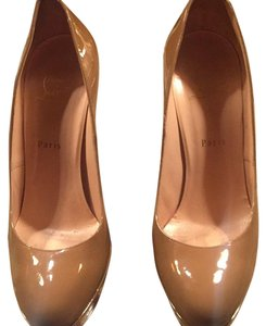 Christian Louboutin Brown/toffee Platforms
