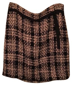 Ann Taylor LOFT Skirt Black and Pink