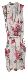 Wilfred short dress Cream with colorful flowers on Tradesy