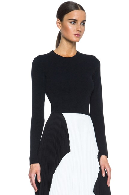 Proenza Schouler Cropped Knitted Sweater Image 8
