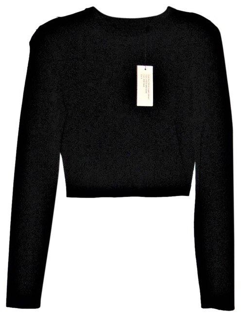 Proenza Schouler Cropped Knitted Sweater Image 2