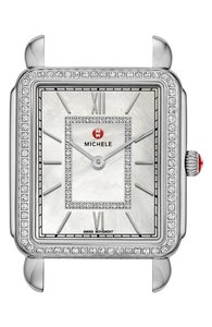 Michele Deco II Diamond Dial Watch