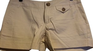 Banana Republic Mini/Short Shorts Off White