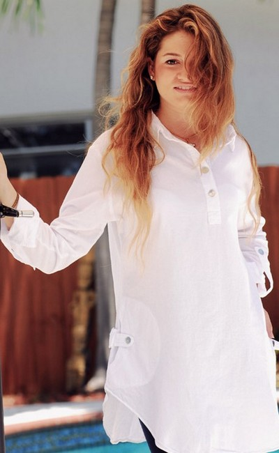 Lirome Embroidered Casual Summer Western Country Tunic Image 10
