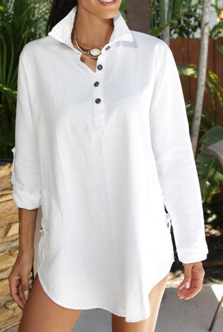 Lirome Embroidered Casual Summer Western Country Tunic Image 8