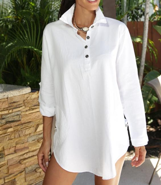 Lirome Embroidered Casual Summer Western Country Tunic Image 9