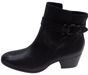 Coach Paulina Ankle Black Boots