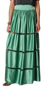 Free People Maxi Skirt Turquoise