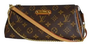 Louis Vuitton Eva Brown Clutch