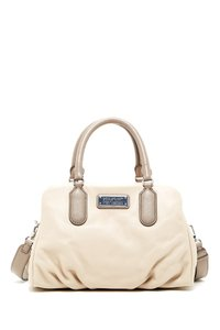 Mark By Marc Jacobs Baby Groovee Leather Satchel in Light Sand Multi