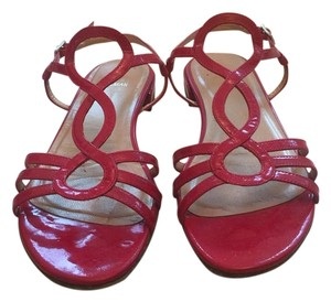 Stuart Weitzman Red patent Sandals