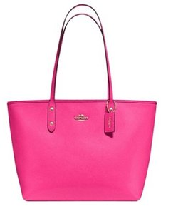 Coach Next Day Shipping 36875 Tote in Pink Ruby