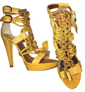 VIKTOR & ROLF Yellow Sandals
