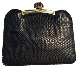 Judith Leiber Navy Blue Clutch