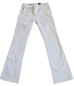AG Adriano Goldschmied 25p Petite Boot Cut Jeans-Light Wash