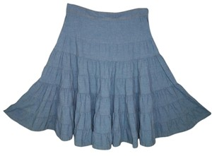 Marc by Marc Jacobs Swing Cotton Boho A-line Skirt