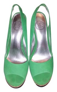Jessica Simpson Green Sandals