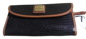 Dooney & Bourke Dooney & Bottle Lizard stamped Leather Wallet NWT