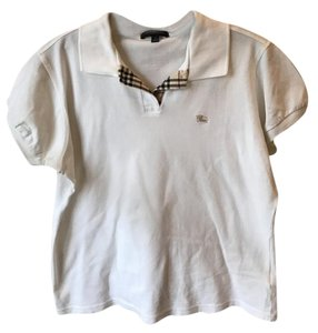 Burberry London Button Down Shirt White