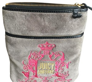 Juicy Couture Grey/pink Messenger Bag