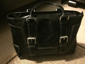MICHAEL Michael Kors Satchel in Black