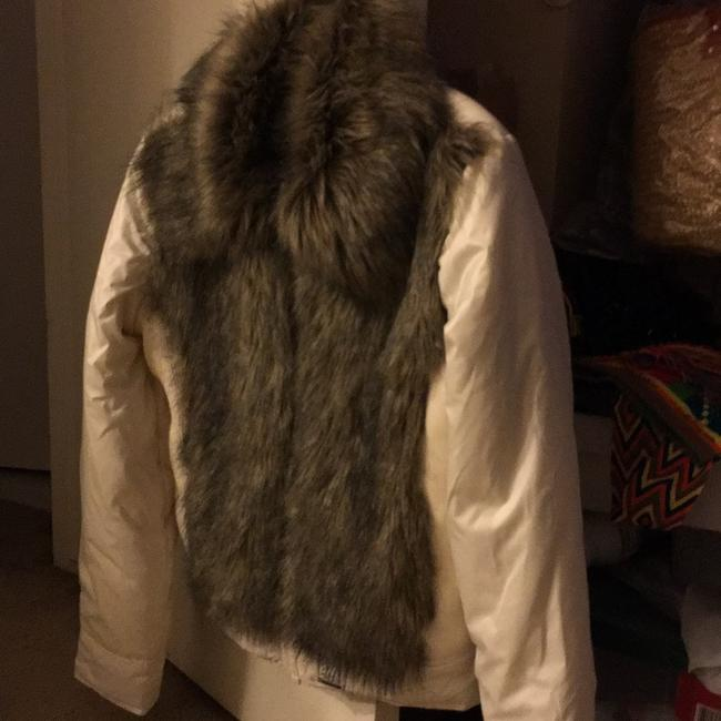 Gsus Industries Imported Made In Holland Winter white Jacket Image 1