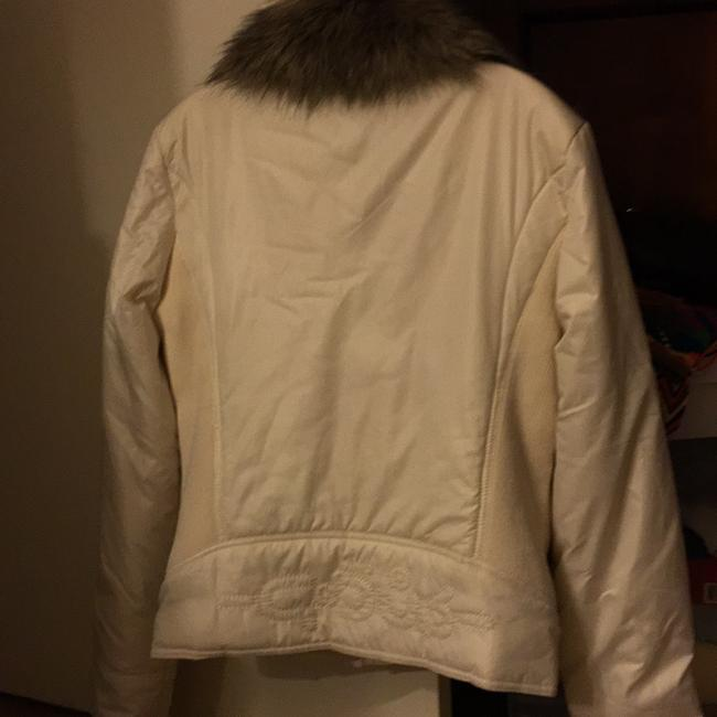 Gsus Industries Imported Made In Holland Winter white Jacket Image 4