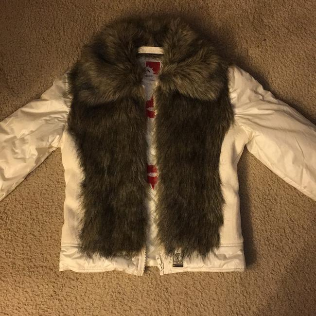 Gsus Industries Imported Made In Holland Winter white Jacket Image 6
