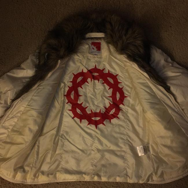 Gsus Industries Imported Made In Holland Winter white Jacket Image 7