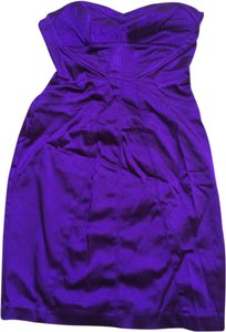 bebe Jewel Tone Party Mini Dress