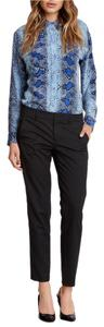 Vince Capri/Cropped Pants Heather Black