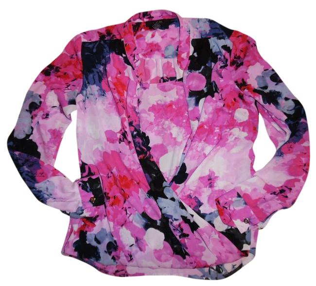Preload https://img-static.tradesy.com/item/19839475/alfani-pink-purple-ivory-navy-blue-abstract-floral-layered-slouchy-rolled-sleeves-blouse-size-2-xs-0-1-650-650.jpg