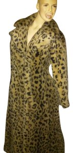 Betsey Johnson Faux Fur Long Fur Coat
