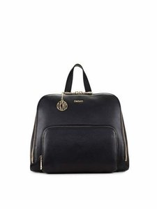 DKNY All Leather Zipper Closings Backpack