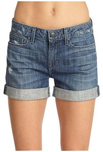 Vince Distressed Denim Shorts-Distressed