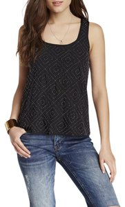 Search for Sanity Beaded Embellished Top Black