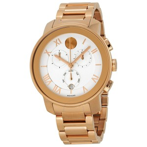 Movado Movado Bold 3600207 Rose Gold Stainless Chronograph Watch