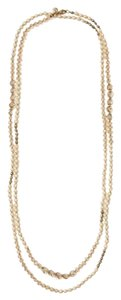 Ann Taylor LOFT Long Pearl Necklace