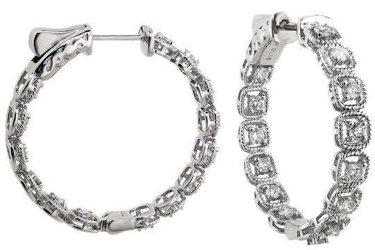 Preload https://item3.tradesy.com/images/abc-jewelry-one-pair-of-24-millimeter-diamond-hoops-set-in-18-karat-white-gold-115-ct-tw-1983972-0-0.jpg?width=440&height=440