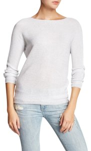 Catherine Malandrino Knit Metallic Long Sleeve Sweater