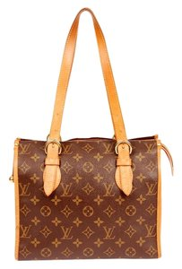 Louis Vuitton Popincourt Haut Tote in Brown