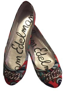 Sam Edelman Edelman Women Metallic Colorful Multicolor Blue Flats