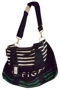 Tommy Hilfiger Blue/Green/White Travel Bag